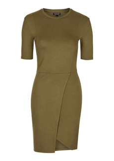 Topshop Wrap Jersey Dress