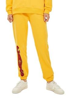 Topshop x UNK Chenille Cavs Jogger Pants