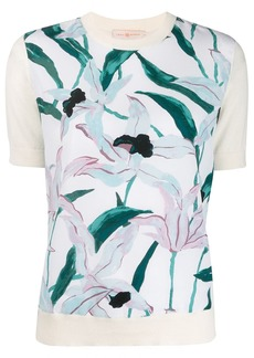 Tory Burch floral short-sleeve top