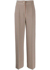 Tory Burch tailored plaid trousers