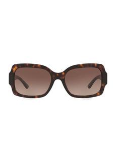 Tory Burch 55MM Tortoise Square Sunglasses