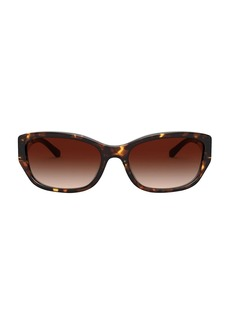 Tory Burch 57MM Rectangular Sunglasses