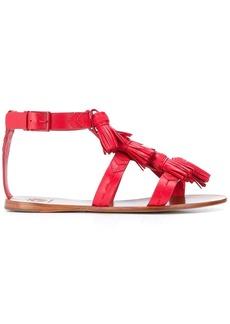 Tory Burch ankle strap tassel sandals