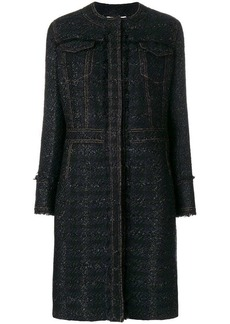 Tory Burch Aria tweed coat