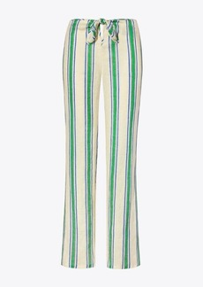 Tory Burch Awning Stripe Beach Pant