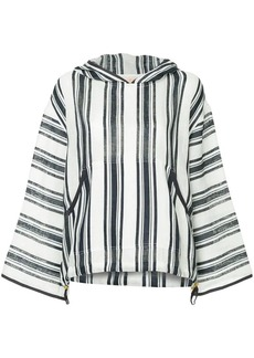 Tory Burch Awning striped hoodie