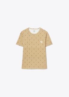 Tory Burch Basket-Weave T-Shirt