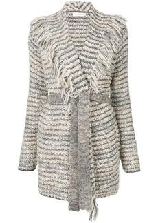 Tory Burch belted cardi-coat
