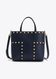 Tory Burch BLOCK-T STUD MINI TOTE