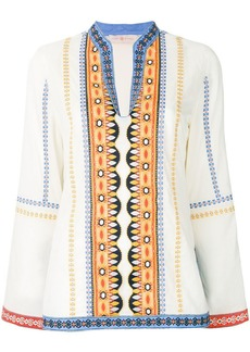 Tory Burch bohemian embroidered tunic