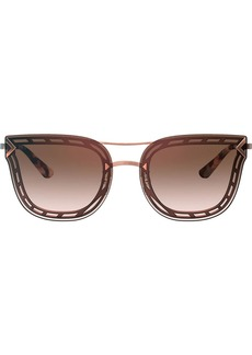 Tory Burch cat-eye shaped sunglasses