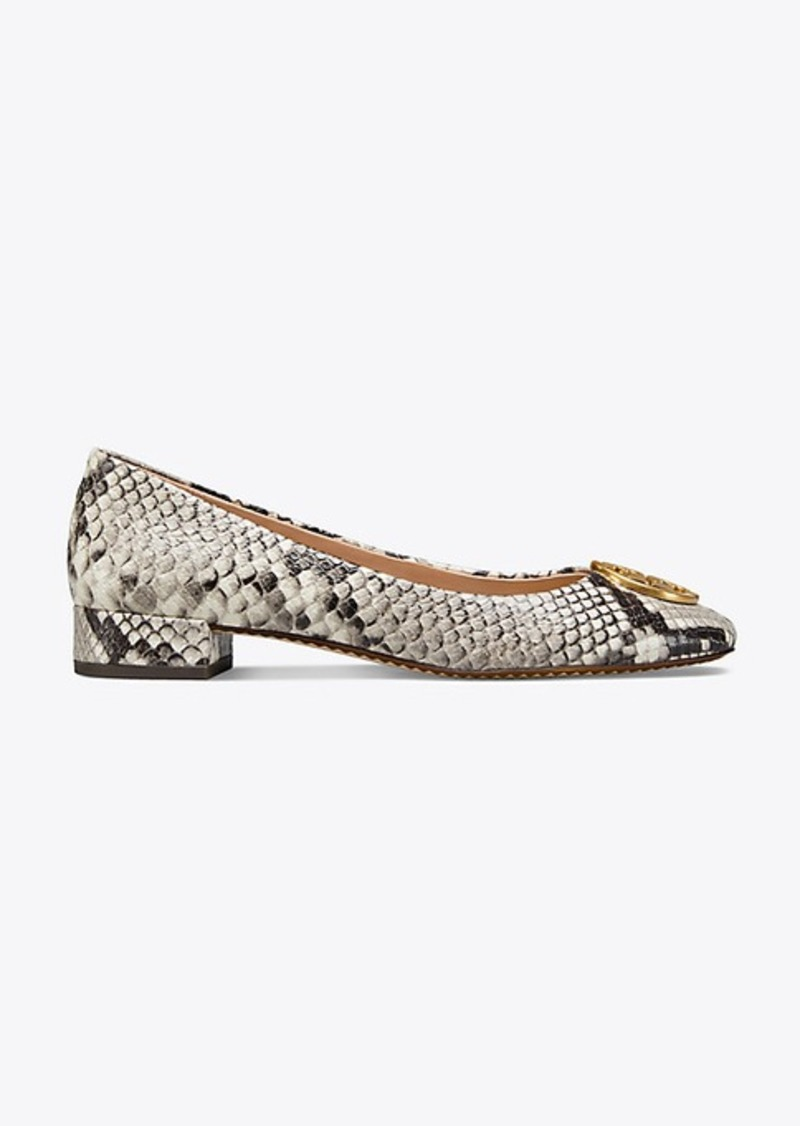 Tory Burch CHELSEA EMBOSSED HEELED BALLET FLAT