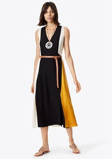 Tory Burch CLARICE WRAP DRESS