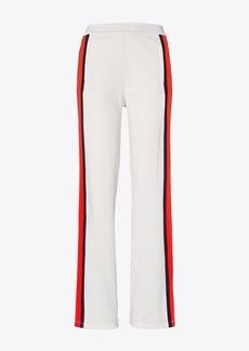 Tory Burch Classic Wide-Leg Track Pants