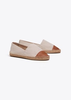 Tory Burch COLOR-BLOCK CANVAS ESPADRILLE