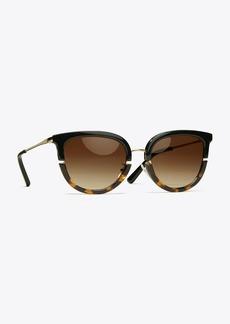 Tory Burch Split-Frame Sunglasses