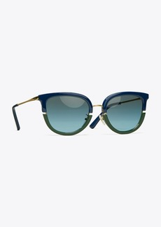 Tory Burch Split-Frame Sunglasses