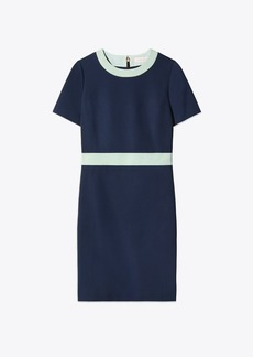 Tory Burch COLOR-BLOCK PONTE DRESS