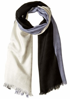 Tory Burch Color Block Traveler Oblong Scarf