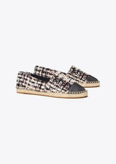 Tory Burch COLOR-BLOCK TWEED ESPADRILLE