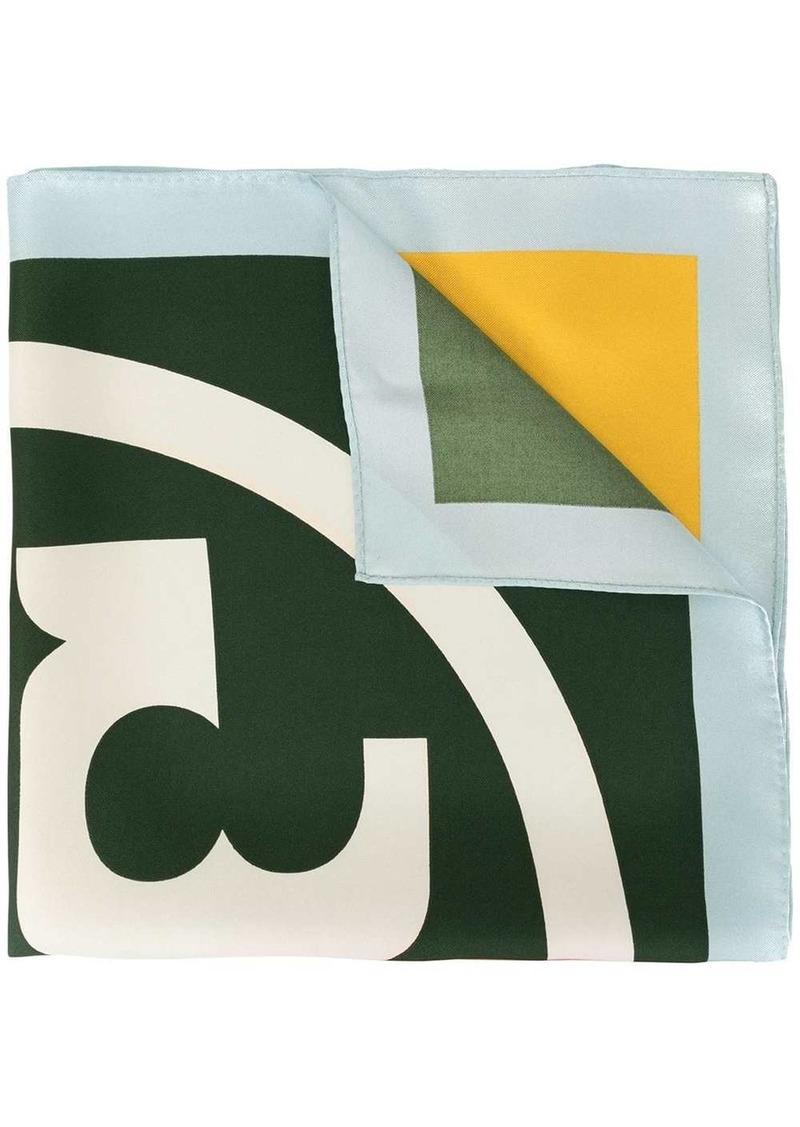 Tory Burch colour block scarf