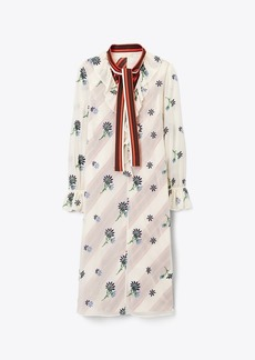Tory Burch Contrast Slip Dress