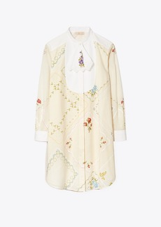 Tory Burch Convertible Handkerchief Tunic Dress