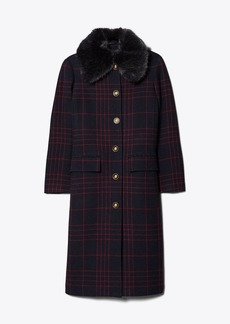 Tory Burch CONVERTIBLE WOOL COAT