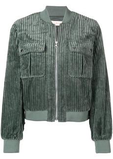 Tory Burch corduroy bomber jacket