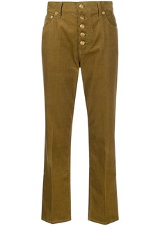 Tory Burch corduroy button-up trousers