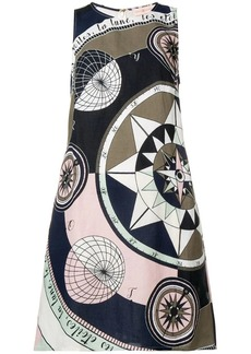 Tory Burch Cosmic print mini dress