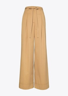 Tory Burch COTTON TWILL WIDE-LEG TROUSER