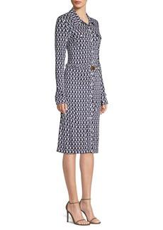 Tory Burch Crista Printed Shirt Dress