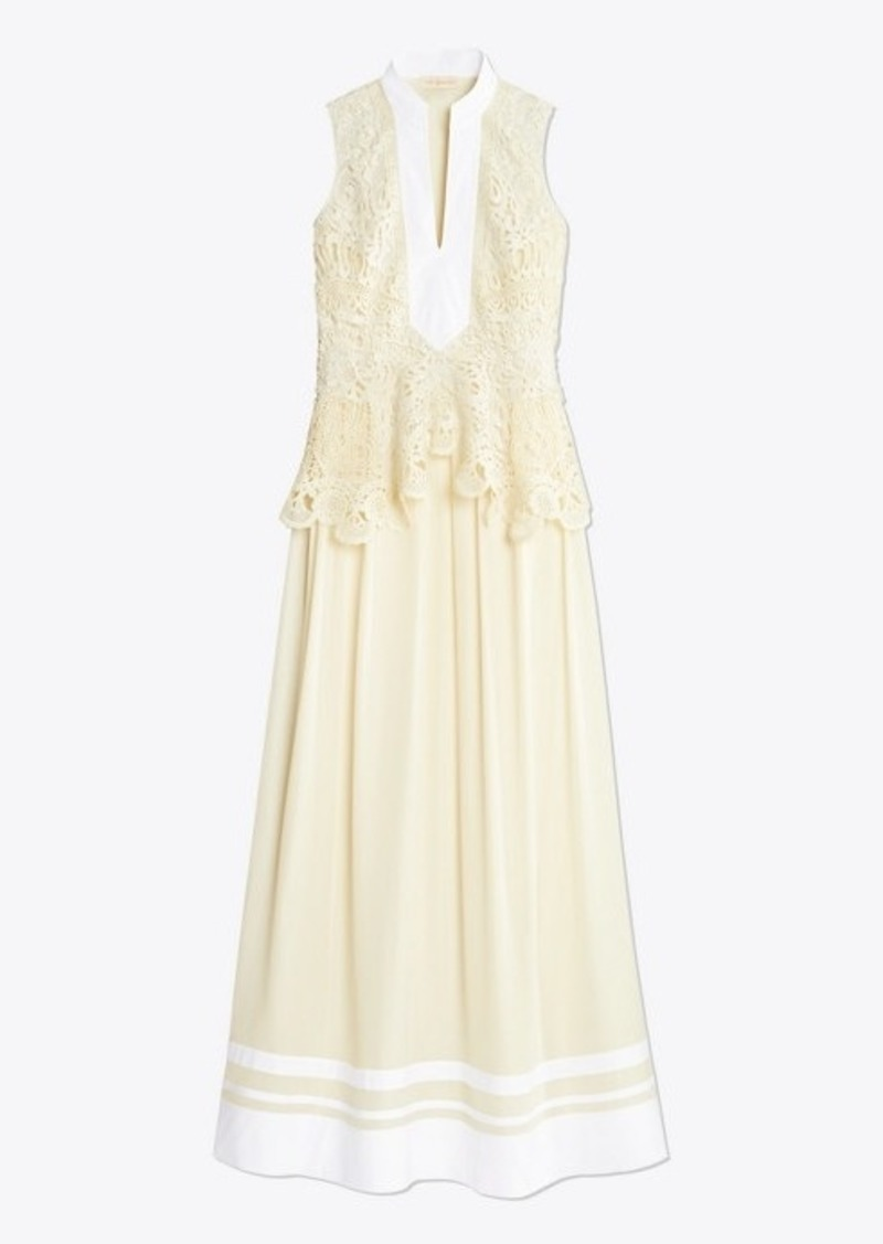 Tory Burch Crochet Lace Tunic Dress