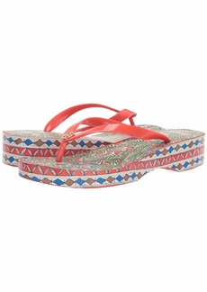 Tory Burch Cut Out Wedge Flip-Flop