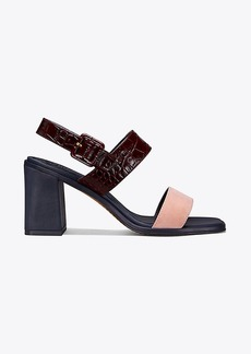 Tory Burch DELANEY COLOR-BLOCK SANDAL