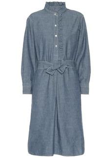 Tory Burch Deneuve chambray shirt dress