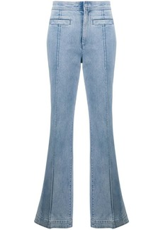 Tory Burch denim high rise flared jeans