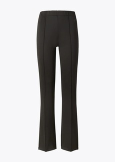 Tory Burch Double Knit Flare Track Pants