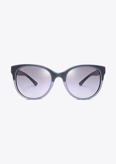 Tory Burch Double-T Cat-Eye Sunglasses