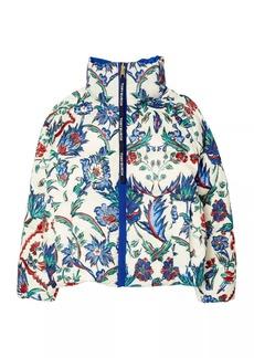 Tory Burch Down Reversible Printed Puffer Jacket