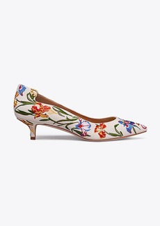 ELIZABETH EMBROIDERED PUMP
