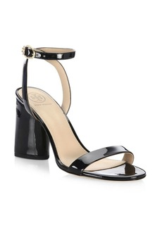 Tory Burch Elizabeth Leather Ankle-Strap Sandals