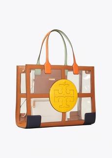 Tory Burch Ella Clear Quadrant Tote Bag