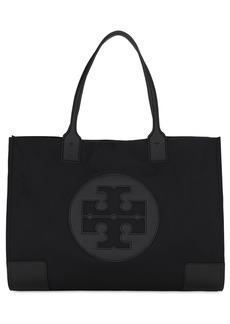 Tory Burch Ella Logo Nylon Tote Bag