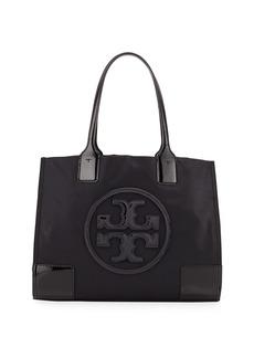 Tory Burch Ella Nylon and Leather Tote Bag