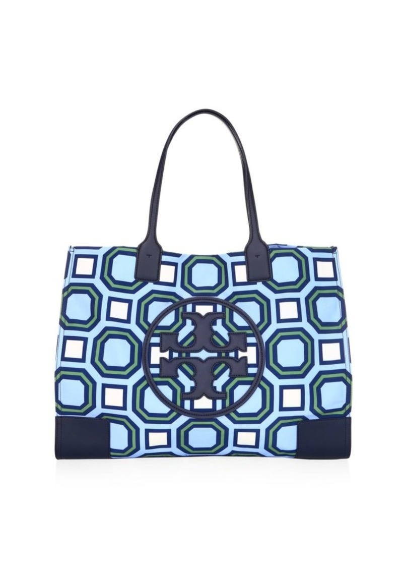 085ff671d4b On Sale today! Tory Burch Ella Printed Nylon Tote