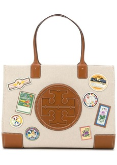 Tory Burch Ella Travel Patches tote bag