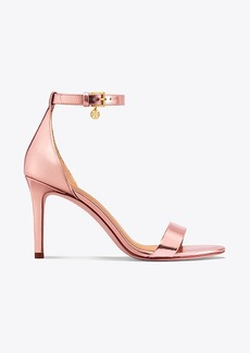 Tory Burch ELLIE METALLIC ANKLE-STRAP SANDAL