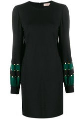 Tory Burch embellished jersey shift dress